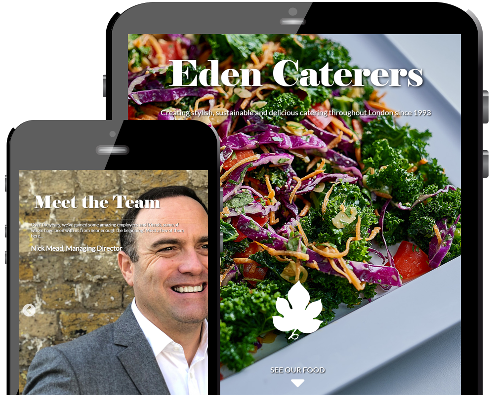 Eden Caterers Home Page
