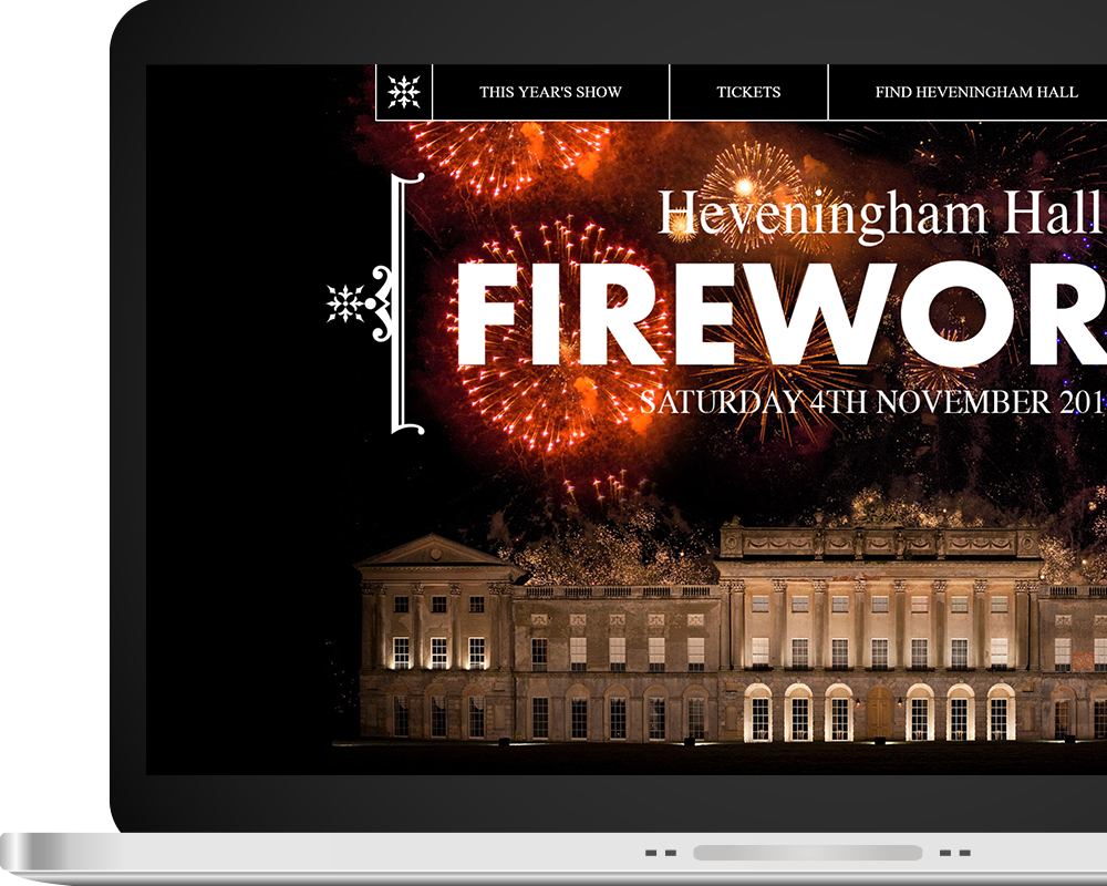 Heveningham Hall Fireworks Home Page