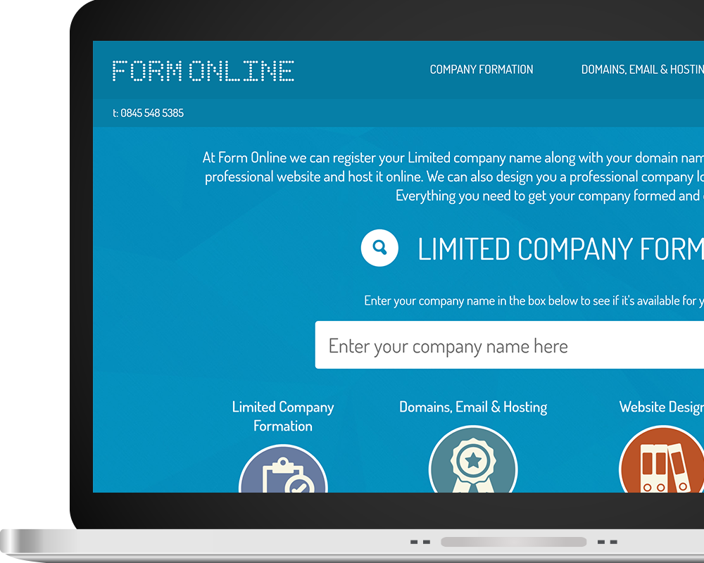 Form Online Home Page