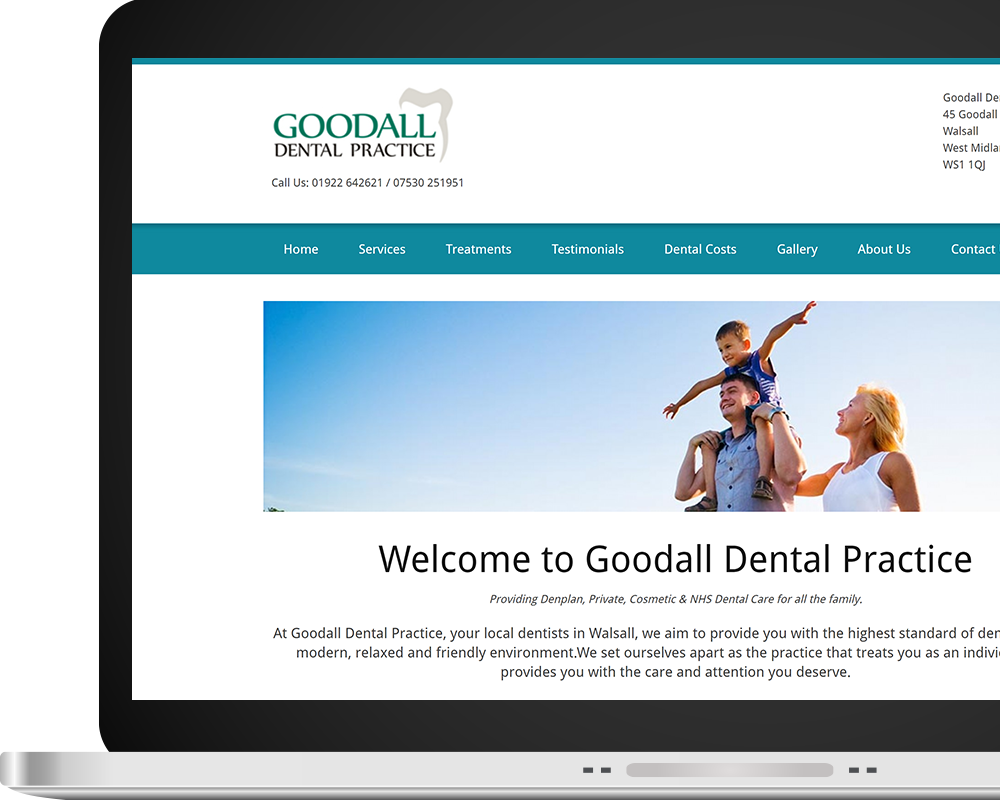 Goodall Dental Home Page